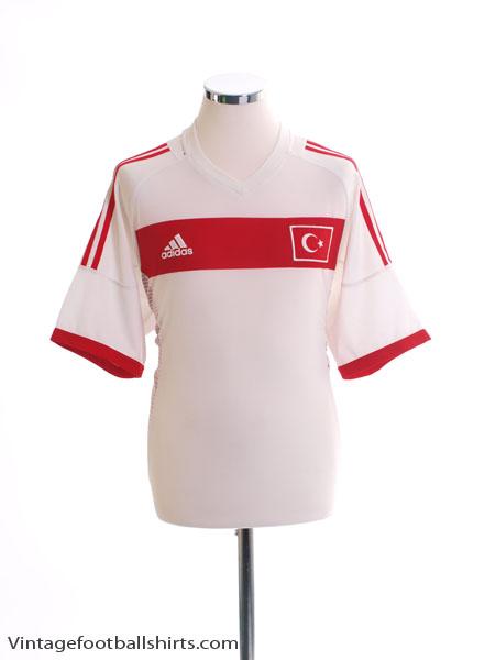 2002-04 Turkey Away Shirt M - 298621