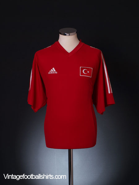 2002-04 Turkey Home Shirt XL