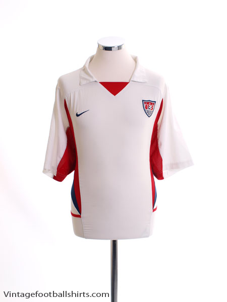 2002-04 USA Home Shirt L
