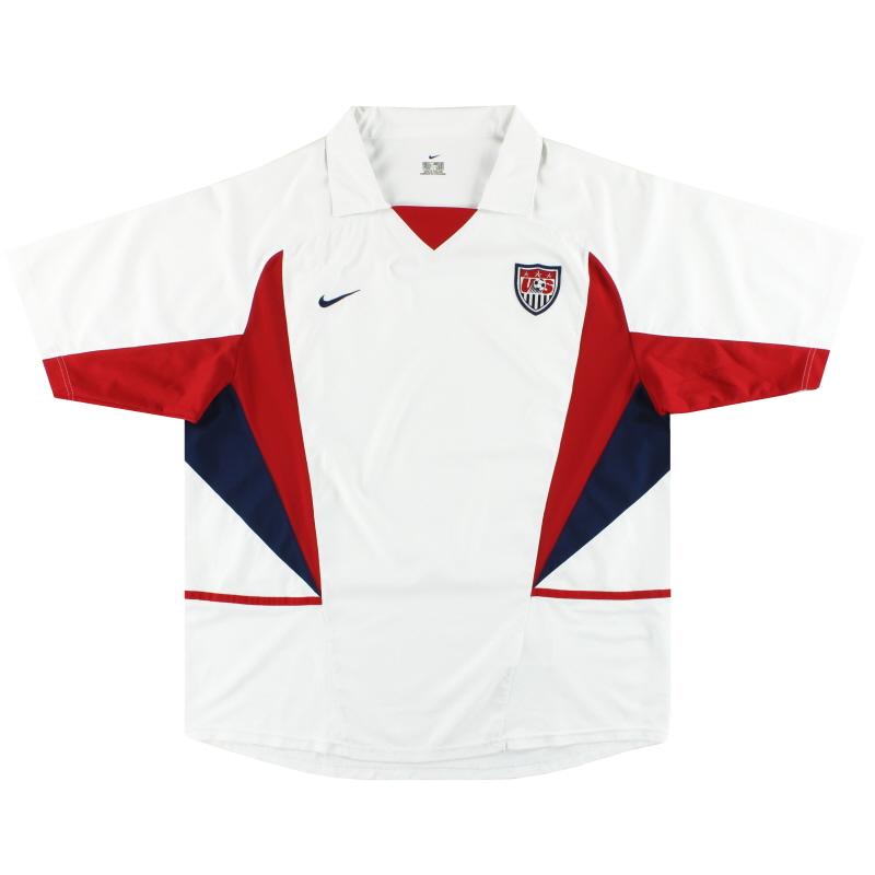 2002-04 USA Nike Home Shirt XL
