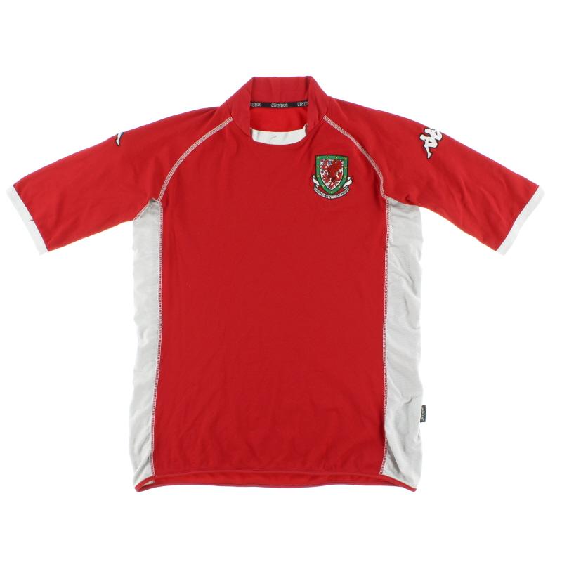 2002-04 Wales Home Shirt M