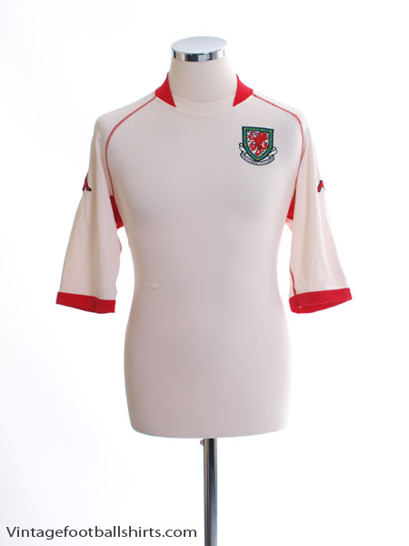 2002-04 Wales Away Shirt XL
