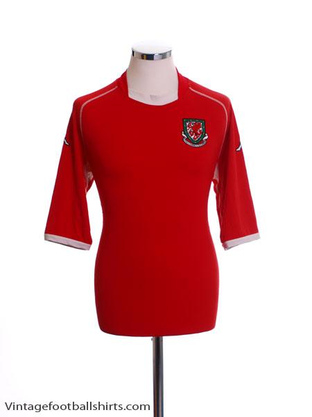 2002-04 Wales Home Shirt XXL