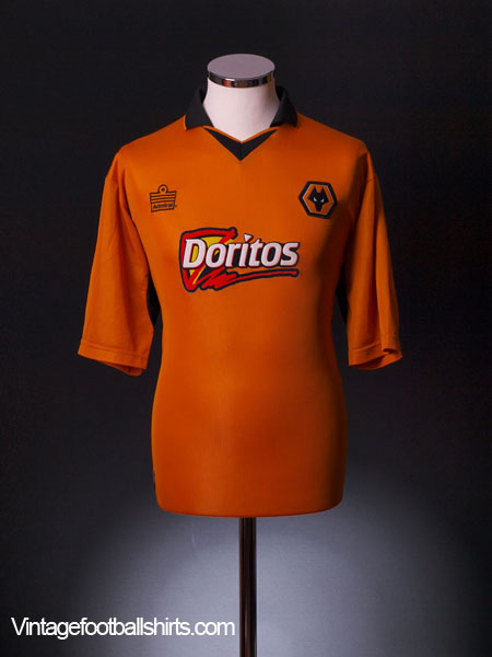 2002-04 Wolves Home Shirt L