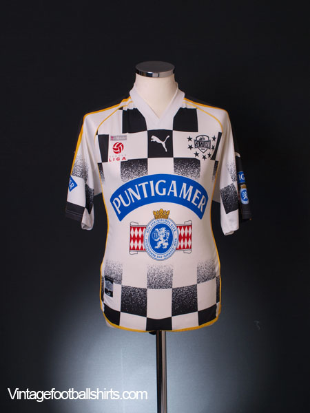 2002-05 Sturm Graz Home Shirt S