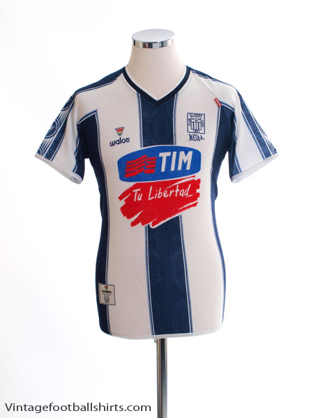 2002 Alianza Lima Home Shirt S