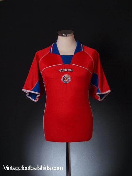 2002 Costa Rica Home Shirt L