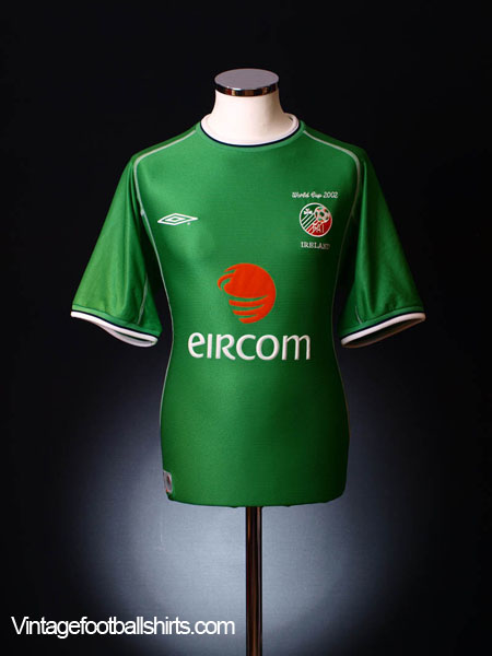 2002 Ireland 'World Cup' Home Shirt XL