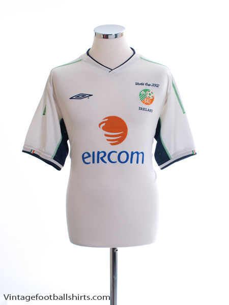2002 Ireland 'World Cup' Away Shirt L