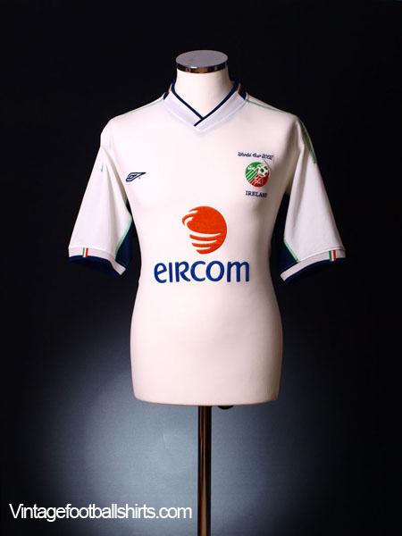 2002 Ireland 'World Cup' Away Shirt XL