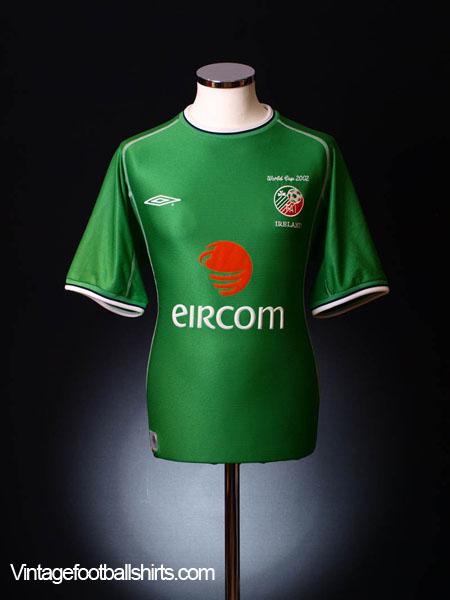 2002 Ireland 'World Cup' Home Shirt L