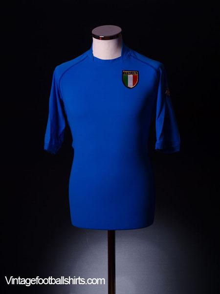 2002 Italy Home Shirt XXXL