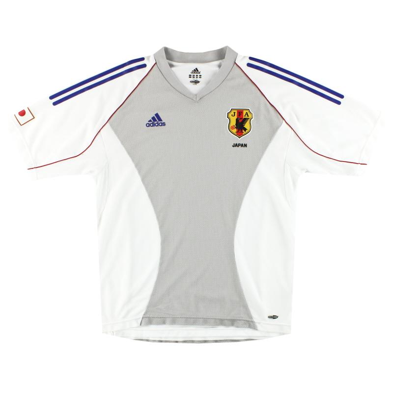 2002 Japan adidas Away Shirt L - 381427