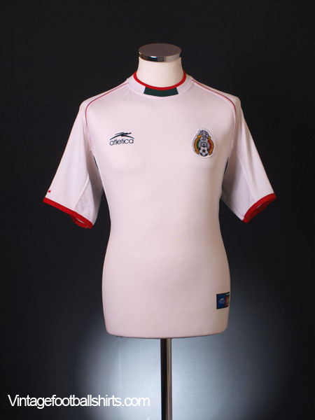 512fa65a1 2002 Mexico Away Shirt L for sale