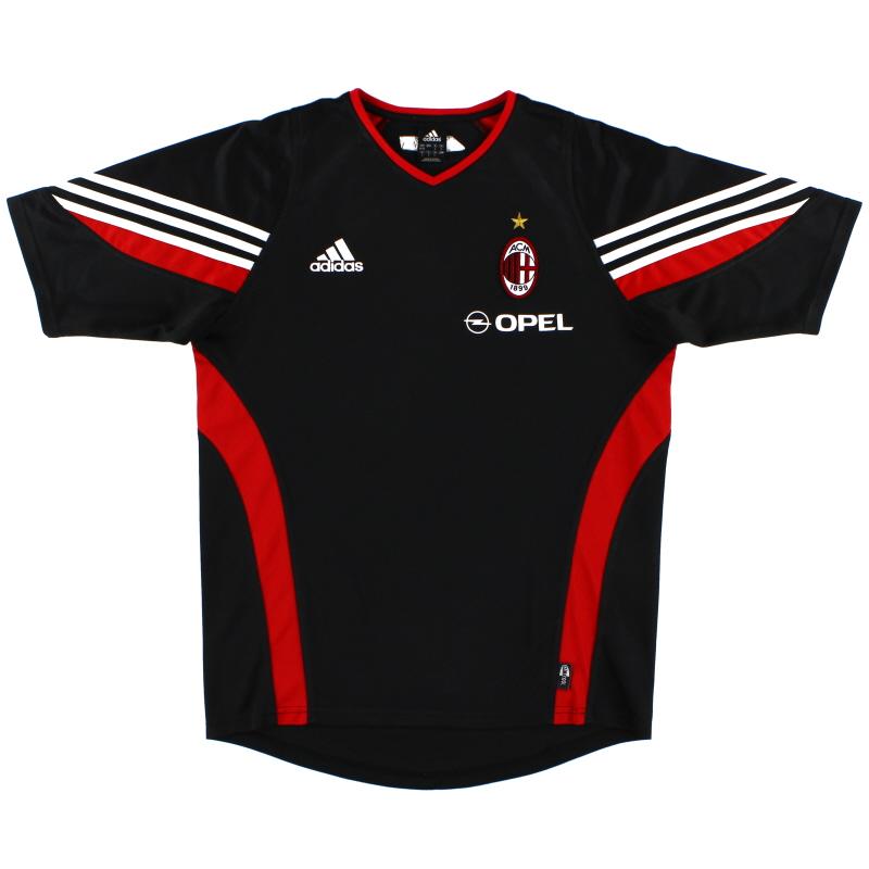 2003-04 AC Milan adidas Training Shirt M - 021889