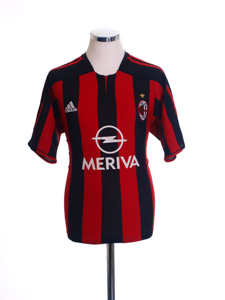 2003-04 AC Milan Home Shirt L - 022245
