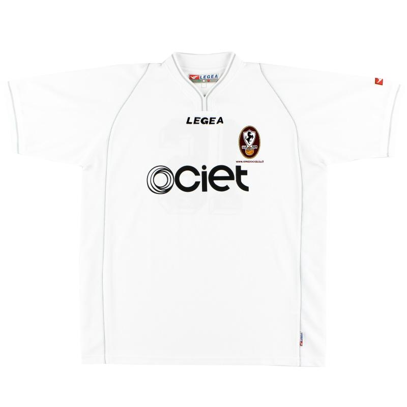 2003-04 Arezzo Away Shirt #16 XL
