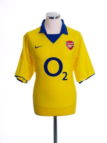 f2dc73db 2003-04 Arsenal Away Shirt Henry #14 L for sale