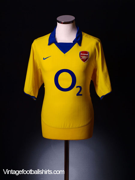 2003-04 Arsenal Away Shirt XL