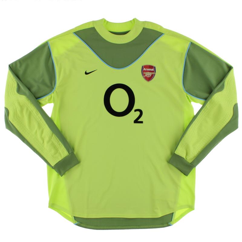 2003-04 Arsenal Goalkeeper Shirt *Mint* XL - 112715