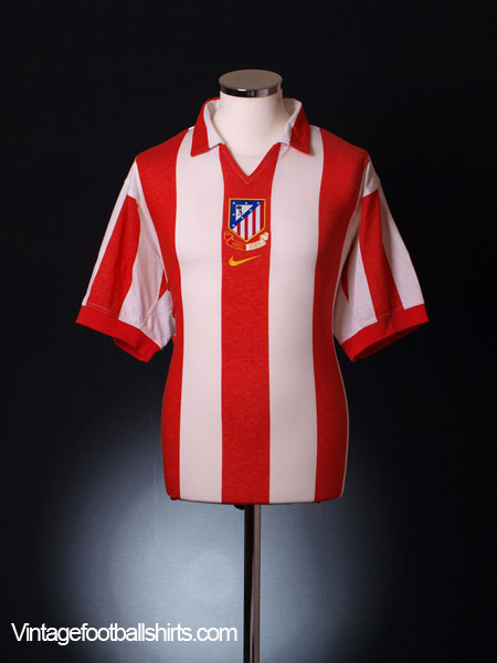 2003-04 Atletico Madrid Centenary Home Shirt XL