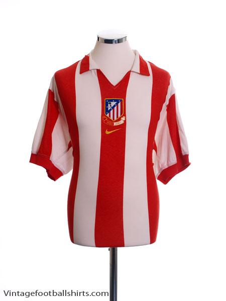 2003-04 Atletico Madrid Centenary Home Shirt S