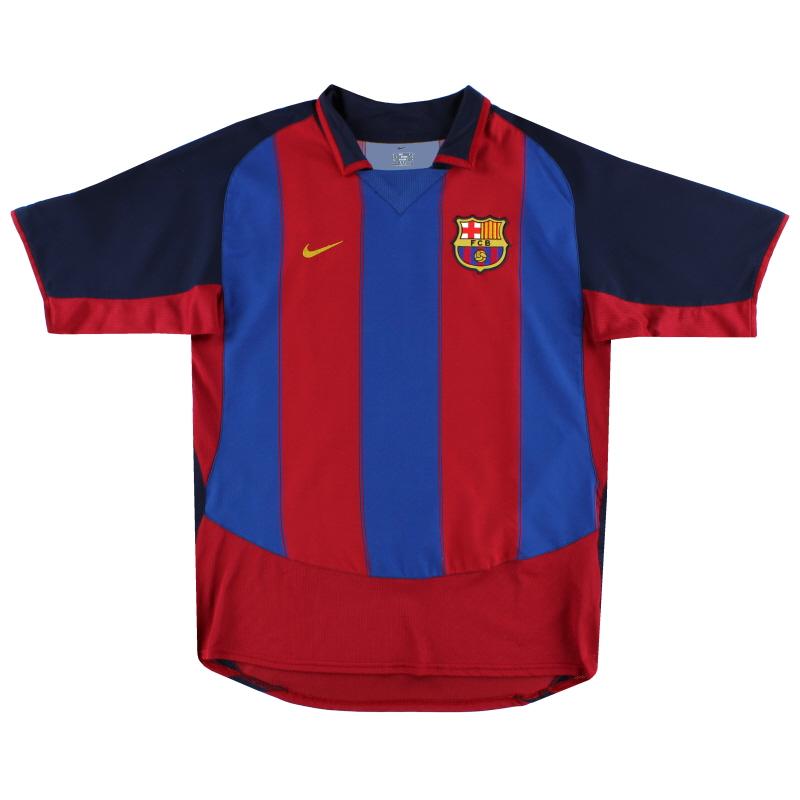 2003-04 Barcelona Nike Home Shirt L - 112586