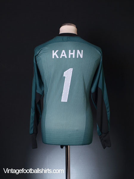 2003-04 Bayern Munich Champions League Goalkeeper Shirt Kahn #1 M