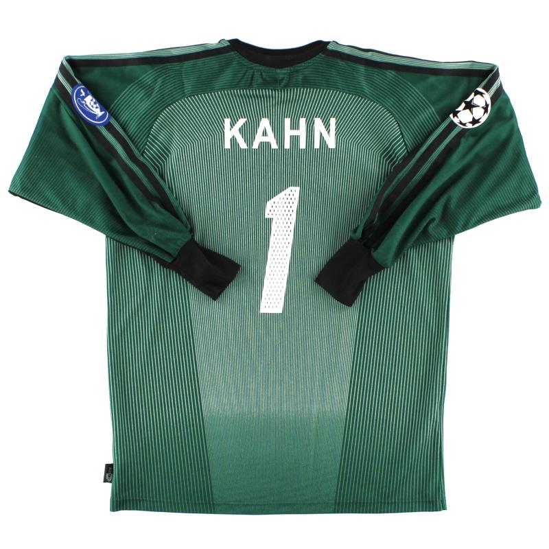 2003-04 Bayern Munich CL Goalkeeper Shirt Kahn #1 S
