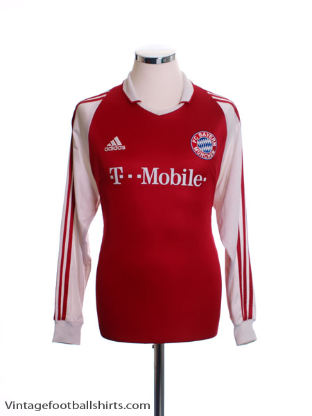 2003-04 Bayern Munich Home Shirt L/S S