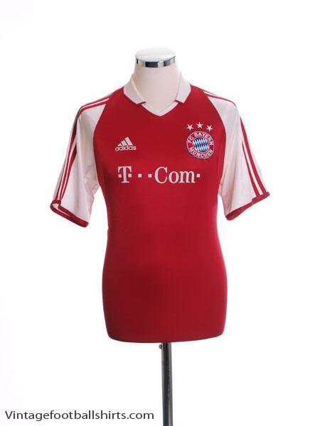 2003-04 Bayern Munich Home Shirt M