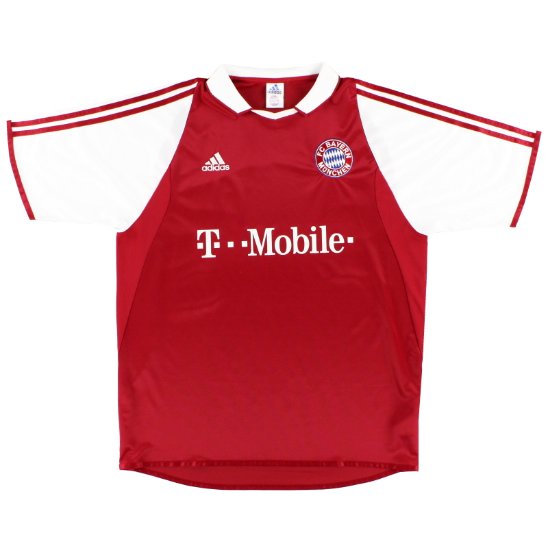 2003-04 Bayern Munich Home Shirt L - 021552