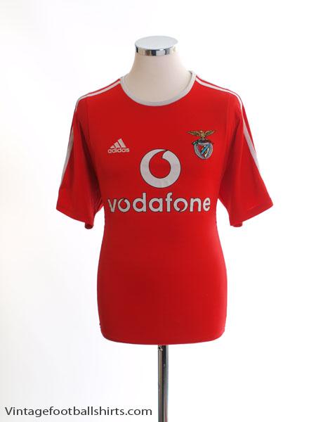 2003-04 Benfica European Home Shirt S