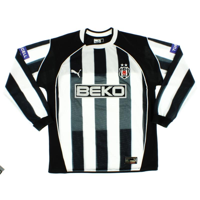 2003-04 Besiktas Away Shirt L/S L