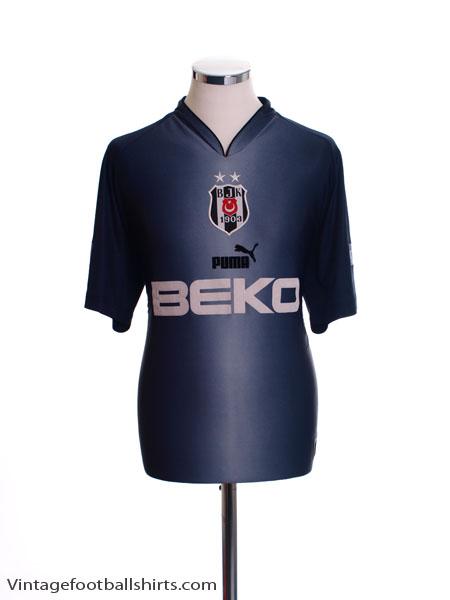 2003-04 Besiktas Fourth Shirt M