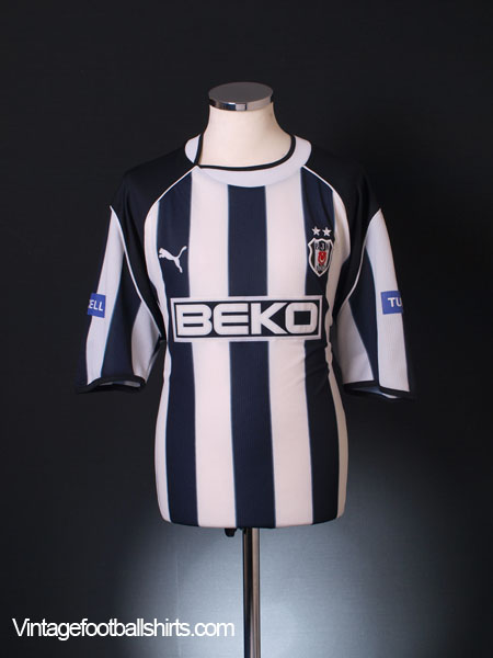 2003-04 Besiktas Home Shirt XXL