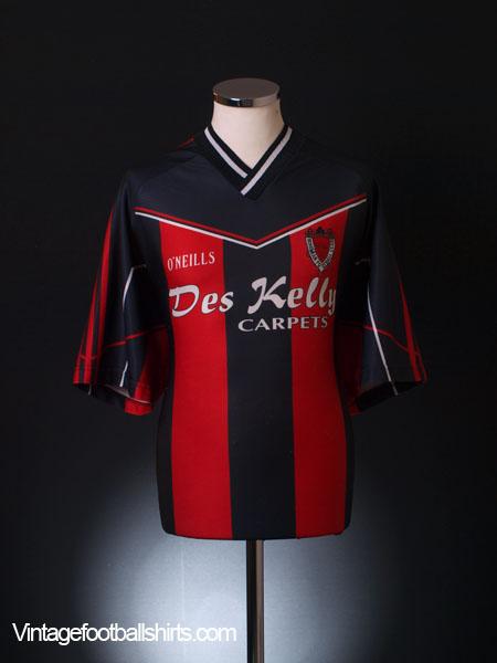 2003-04 Bohemian FC Home Shirt L