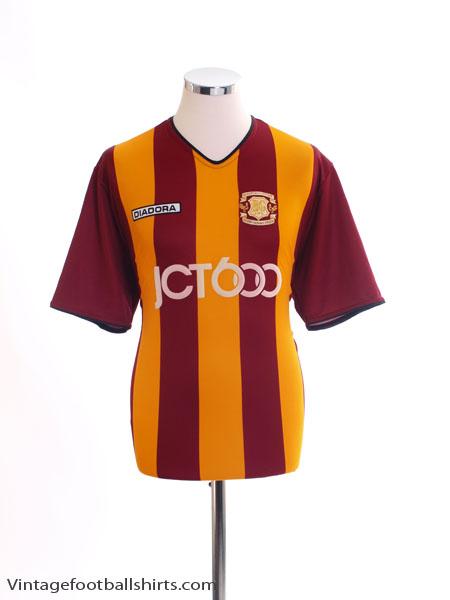 2003-04 Bradford City Centenary Home Shirt M