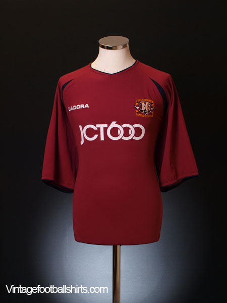 2003-04 Bradford City Centenary Home Shirt XXL