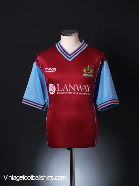 2003-04 Burnley Home Shirt L