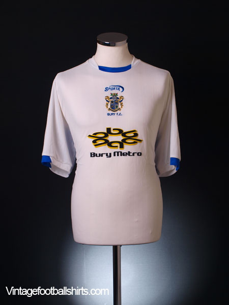 2003-04 Bury Home Shirt S