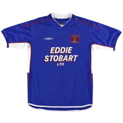 2003-04 Carlisle Umbro Home Shirt M