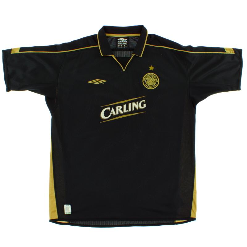 2003-04 Celtic Away Shirt XL