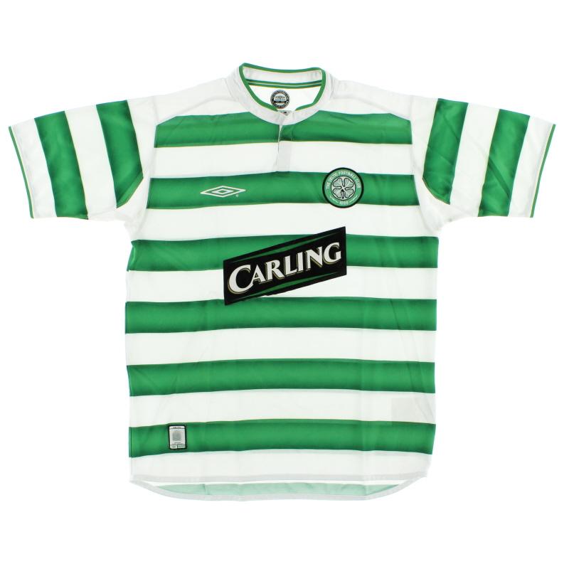 2003-04 Celtic Home Shirt M