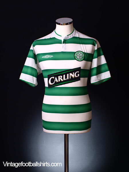 2003-04 Celtic Home Shirt L