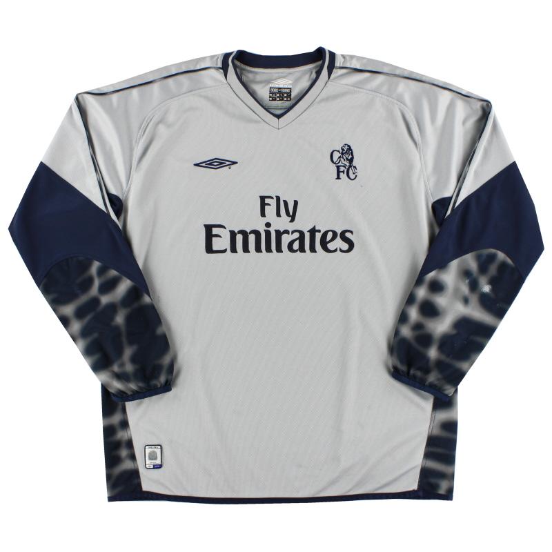 2003-04 Chelsea Goalkeeper Shirt XXL