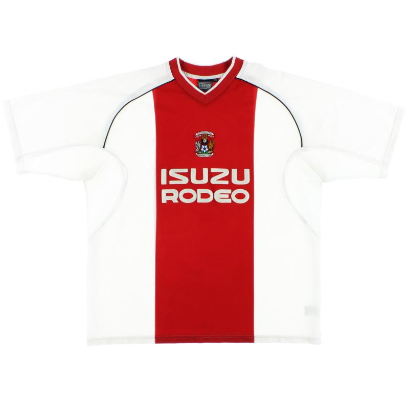 2003-04 Coventry Away Shirt XXL