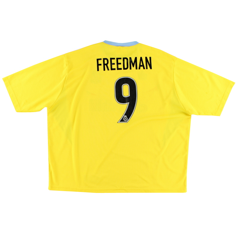 2003-04 Crystal Palace Away Shirt Freedman #9 XXXL