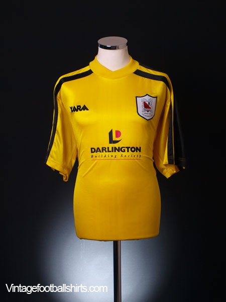 2003-04 Darlington Away Shirt L