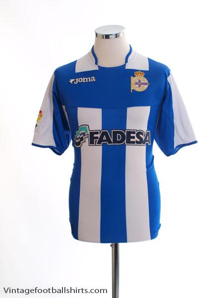 2003-04 Deportivo Home Shirt L